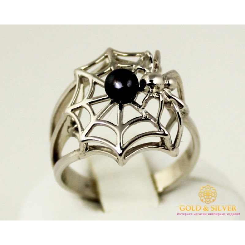 кольцо паук