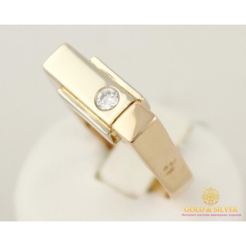 серебряное кольцо с фианитом размер 20