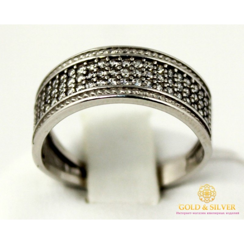 серебро кольца женские без камней
