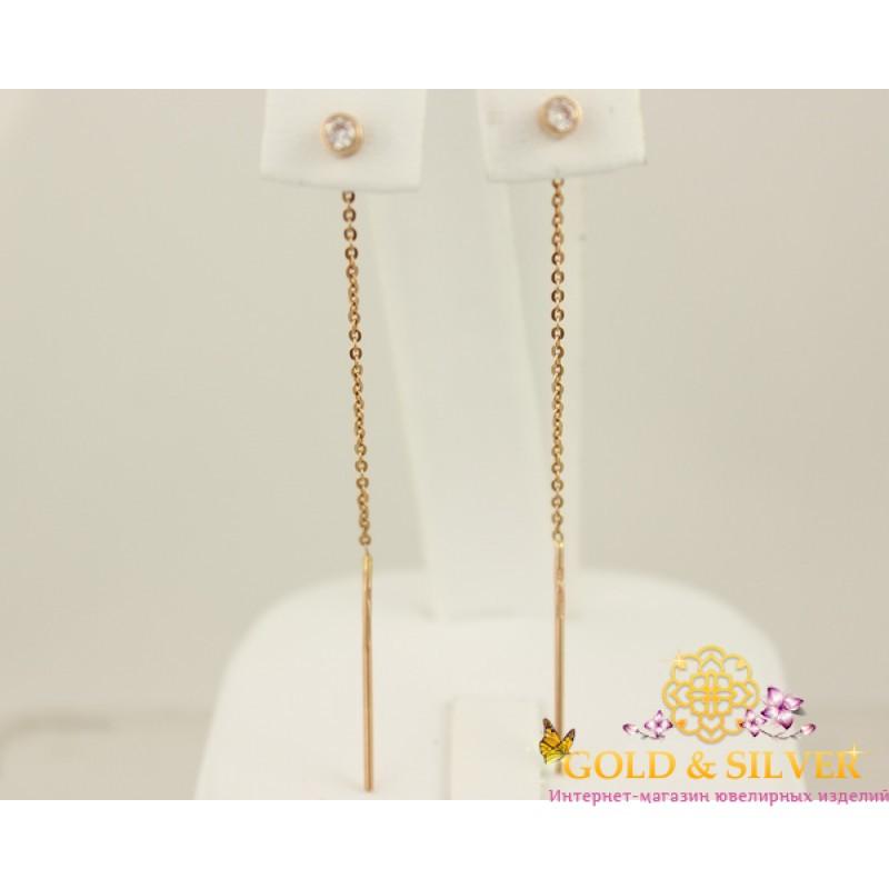 фото золотые серьги без камней