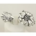 Серебряное кольцо 925 проба. Женское кольцо на два пальчика, универсальное. 8 грамм. 1291 , Gold &amp Silver Gold & Silver, Украина