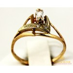 Золотое кольцо 585 проба. Женское Кольцо с красного золота. 1,56 грамма. kv917i , Gold & Silver Gold & Silver, Украина