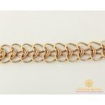 Золотой Браслет 585 проба. Браслет с красного золота, Плетение Питон bc029 , Gold & Silver Gold & Silver, Украина