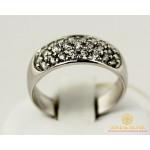 Золотое кольцо 585 проба. Женское Кольцо с белого золота, 4,06 грамма. kv074bi , Gold & Silver Gold & Silver, Украина