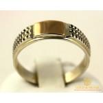 Серебряное Кольцо 875 проба. Кольцо с вставкой золота 375 проба. 487z , Gold & Silver Gold & Silver, Украина