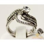 Серебряное кольцо 925 проба. Женское Кольцо Кензо 15709p , Gold & Silver Gold & Silver, Украина