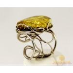 Серебряное кольцо 925 проба. Женское Кольцо Янтарь ya1221 , Gold & Silver Gold & Silver, Украина