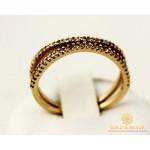 Золотое кольцо 585 проба. Женское Кольцо из красного золота. 2,32 грамма. kv2402i , Gold & Silver Gold & Silver, Украина