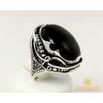 Серебряное кольцо 925 проба. Женское Кольцо Дама с вставкой Улексита. 10329 , Gold & Silver Gold & Silver, Украина