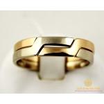 Золотое Кольцо 585 проба. Кольцо обручальное с красного и белого золота. ok260i , Gold & Silver Gold & Silver, Украина