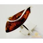 Серебряное кольцо 925 проба. Женское Кольцо Янтарь 003k , Gold & Silver Gold & Silver, Украина