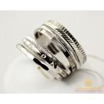 Золотое кольцо 585 проба. Женское Кольцо с белого золота Неделька. 5,33 грамма. ok054b , Gold & Silver Gold & Silver, Украина