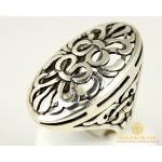 Серебряный набор Шахерезада 925 проба. Серебряное кольцо и серебряный браслет.
