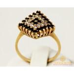 Золотое кольцо 585 проба. Женское Кольцо с желтого золота. 4,32 грамма. kv247100i , Gold &amp Silver Gold & Silver, Украина