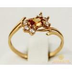 Золотое кольцо 585 проба. Женское Кольцо 103241 , Gold & Silver Gold & Silver, Украина