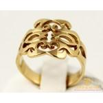 Золотое кольцо 585 проба. Женское Кольцо 4,5 грамма. Без вставок. kb004i , Gold & Silver Gold & Silver, Украина