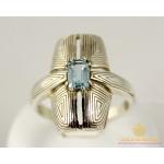Серебряное кольцо 925 проба. Женское Кольцо Новый Стиль с вставкой топаз.11489p , Gold & Silver Gold & Silver, Украина