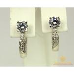 Серебряные Серьги 925 проба. Женские серебряные серьги Анечка 21219p , Gold & Silver Gold & Silver, Украина