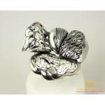 Серебряное кольцо 925 проба. Женское Кольцо Цветок, широкое. 1281 , Gold &amp Silver Gold & Silver, Украина