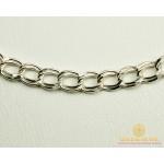 Серебряная Цепь Двойной Якорь 90103205041 , Gold & Silver Gold & Silver, Украина