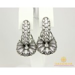Серебряные серьги 925 проба. Женские серебряные Серьги Инесса 2216 , Gold &amp Silver Gold & Silver, Украина