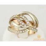 Золотое кольцо 585 проба. Женский Перстень с красного и белого золота 5,72 грамма кв980и , Gold & Silver Gold & Silver, Украина