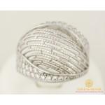 Серебряное кольцо 925 проба. Женское Кольцо широкое, россыпь камней. с10305 , Gold &amp Silver Gold & Silver, Украина