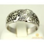 Серебряное кольцо 925 проба. Женское Кольцо Трехкаменка. 1122 , Gold &amp Silver Gold & Silver, Украина