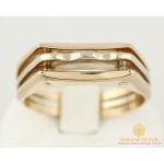 Золотой перстень 585 проба. Мужское кольцо красное и белое золото. 8020710 , Gold & Silver Gold & Silver, Украина