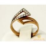 Золотое кольцо 585 проба. Женское Кольцо с красного и белого золота 320859 , Gold & Silver Gold & Silver, Украина