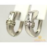 Серебряные Серьги 925 проба. Женские серебряные серьги Дали 2008р , Gold & Silver Gold & Silver, Украина