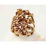 Золотое Кольцо 585 проба. Женское кольцо с красного золота, с вставкой. Фианит 11248 , Gold &amp Silver Gold & Silver, Украина