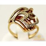 Золотое кольцо 585 проба. Женское Кольцо с красного и белого золота. k184 , Gold & Silver Gold & Silver, Украина