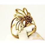 Золотое кольцо 585 проба. Женское Кольцо из красного золота, без камней. kb026i , Gold & Silver Gold & Silver, Украина