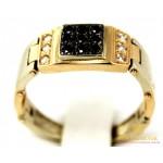 Золотое кольцо 585 проба. Мужское Кольцо с красного золота, Подвижное pch032010i , Gold & Silver Gold & Silver, Украина