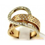 Золотое кольцо 585 проба. Женское кольцо 8,43 грамма. kv259i , Gold &amp Silver Gold & Silver, Украина
