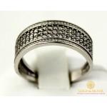 Серебряное кольцо 925 проба. Женское серебярное Кольцо Река 15989r , Gold & Silver Gold & Silver, Украина