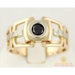 Золотое кольцо 585 проба. Мужское кольцо с красного и белого золота. 7,99 грамма. pch041i , Gold & Silver Gold & Silver, Украина