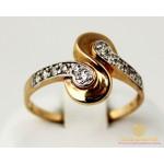 Золотое кольцо 585 проба. Женское Кольцо 2,78 грамма. 320319 , Gold & Silver Gold & Silver, Украина
