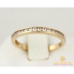 Золотое кольцо 585 проба.  Женское Кольцо 1,96 грамма. kv139i