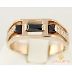 Золотое кольцо 585 проба. Мужское кольцо c красного золота. 5,59 грамма. pch1050010