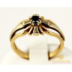 Золотое кольцо 585 проба. Женское Кольцо с красного и белого золота. 4,16 грамма. kv41310i