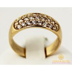 Золотое кольцо 585 проба. Женское Кольцо 4,36 грамма. kv047i.