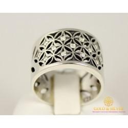 Серебряное кольцо 925 проба. Женское Кольцо Тая 1129