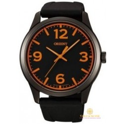 Мужские Часы Каучуковый Браслет Orient FQC0U007B0