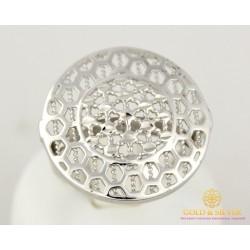 Серебряное кольцо 925 проба. Женское Кольцо широкий круг. 300311с