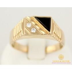 Золотое кольцо 585 проба. Мужское Кольцо с красного золота. 7 грамм pch018i