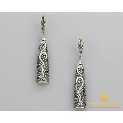 Серебряные Серьги 925 проба. Серьги женские ветка Калины 2161