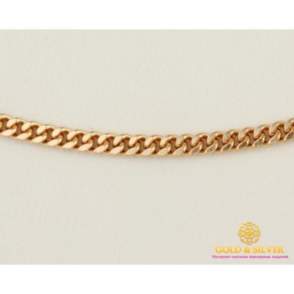 Золотая Цепь 585 проба. Цепочка с красного золота, плетение Панцирь 60 сантиметров 6,17 грамма. 50101105041 , Gold &amp Silver Gold & Silver, Украина