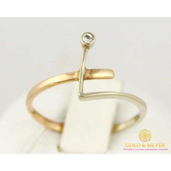 Золотое кольцо 585 проба. Женское Кольцо Руна. 0,96 грамма. kv21311 , Gold & Silver Gold & Silver, Украина